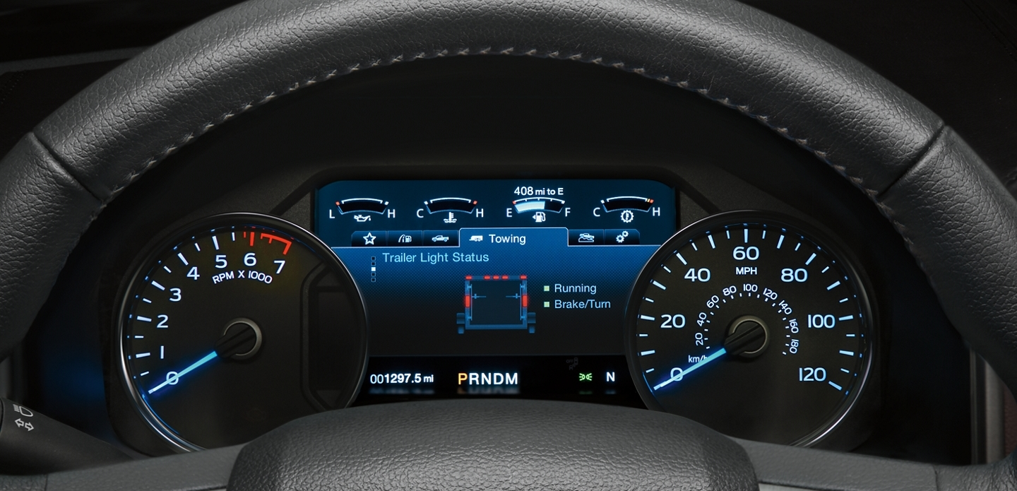 2020 Ford F-150 Available 8-Inch LCD Productivity Screen