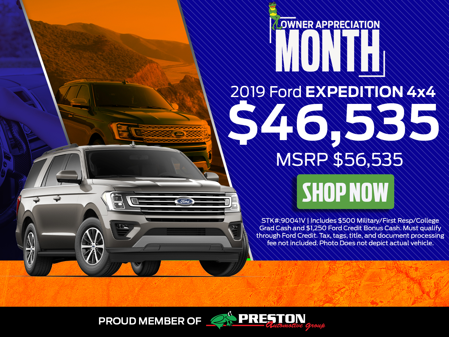 2019 Ford Expedition 4x4