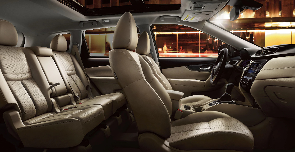 2020 Nissan Rogue Available Genuine Leather-Appointed Seats