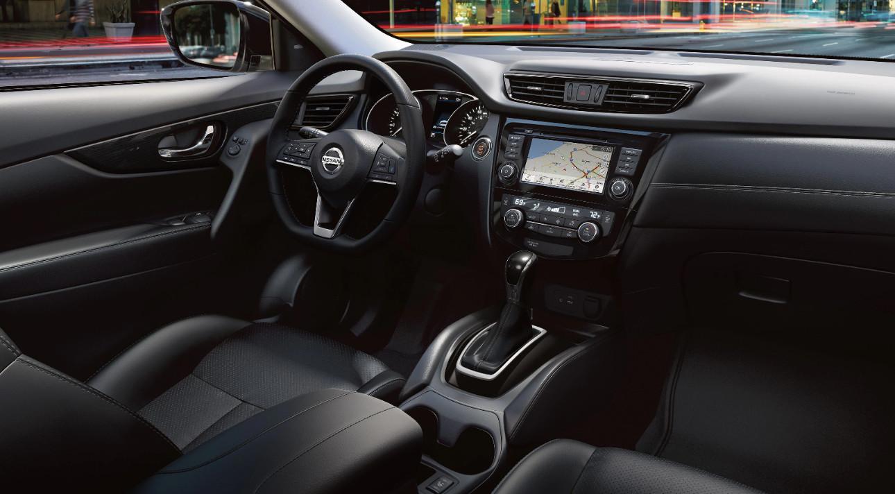 2020 Nissan Rogue D-Shaped Steering Wheel