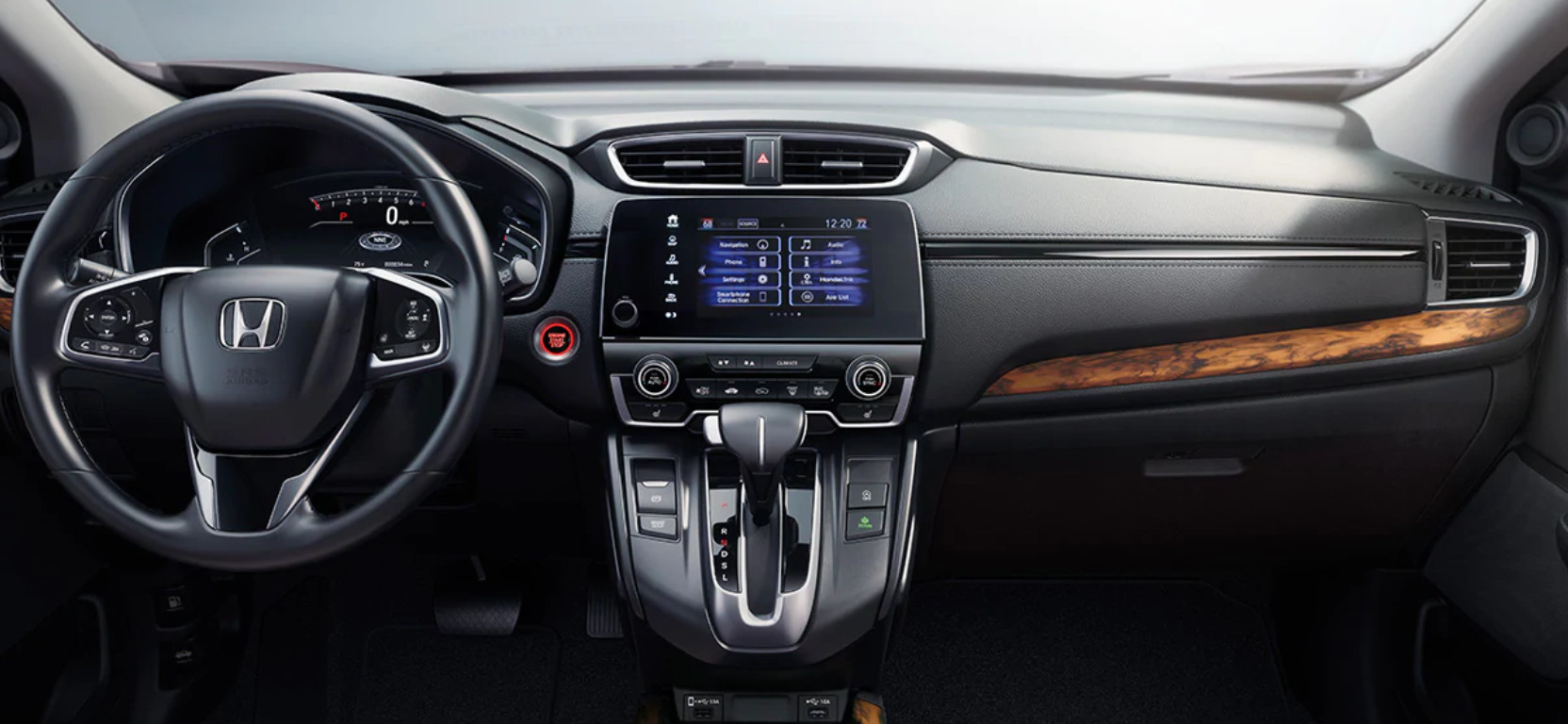 2020 Honda CR-V Available Dual-Zone Automatic Climate Control System