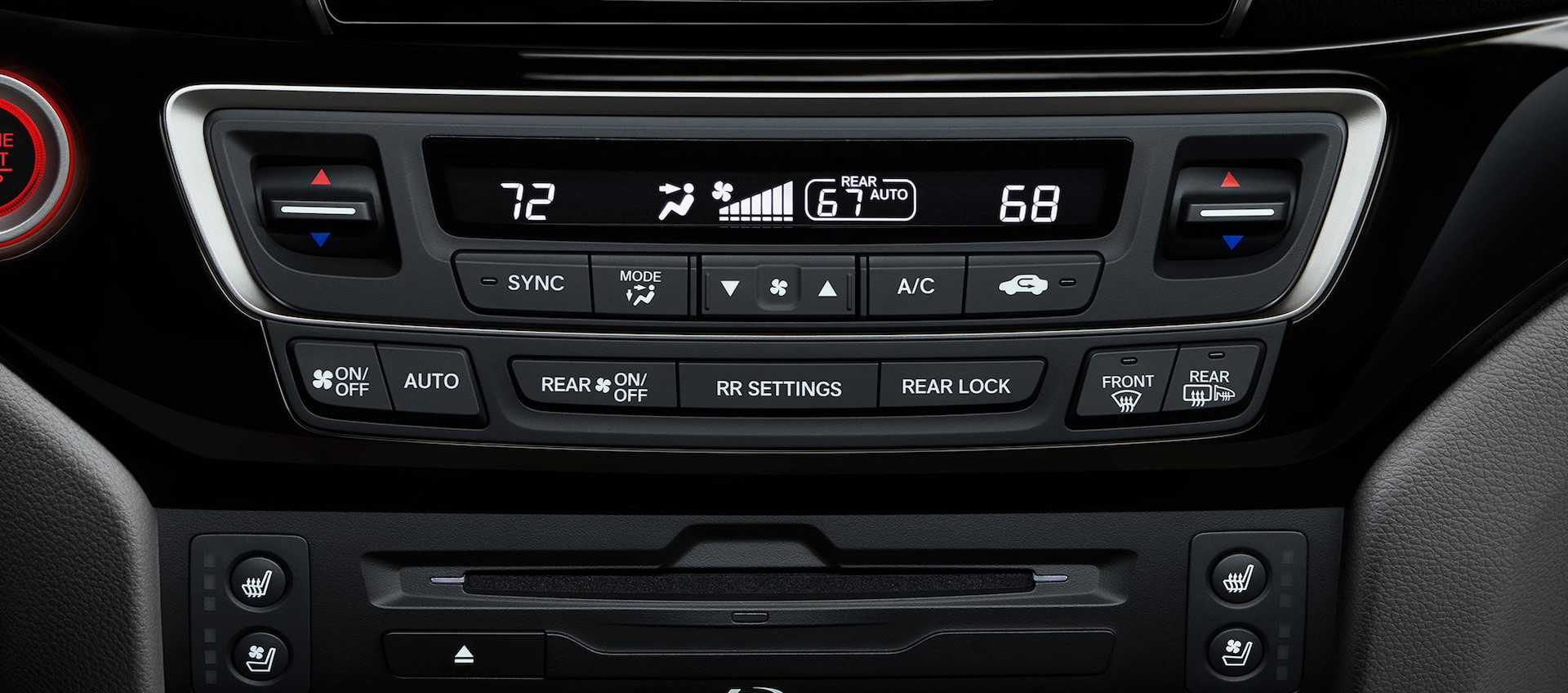 Climate Control in the 2020 Honda Pilot