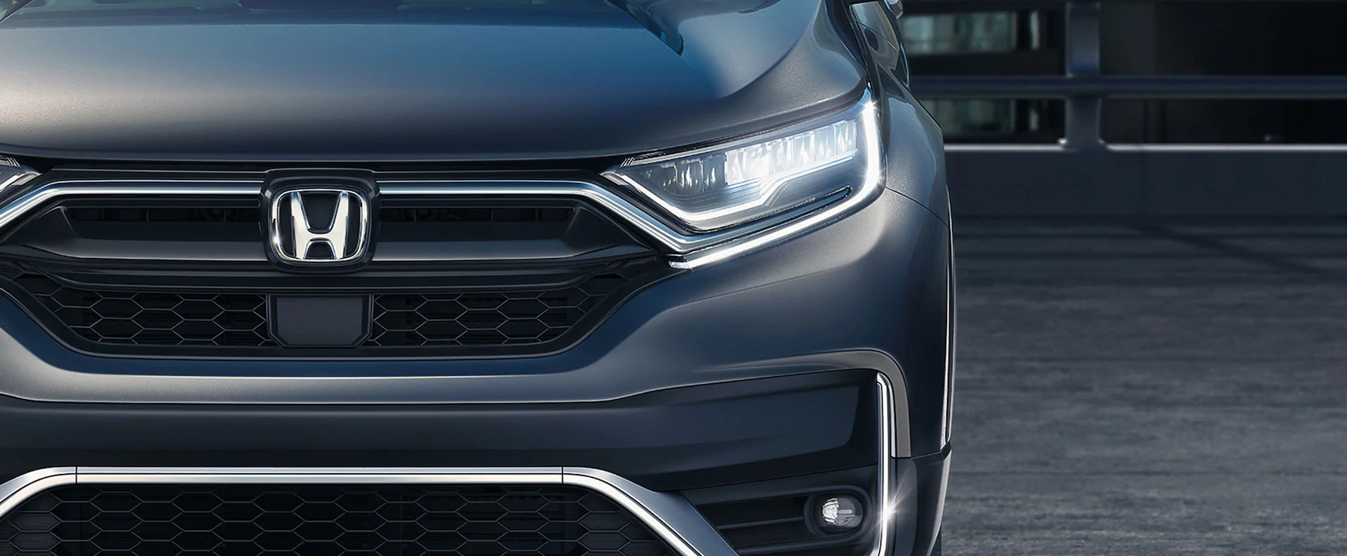Front Fascia of the 2020 CR-V