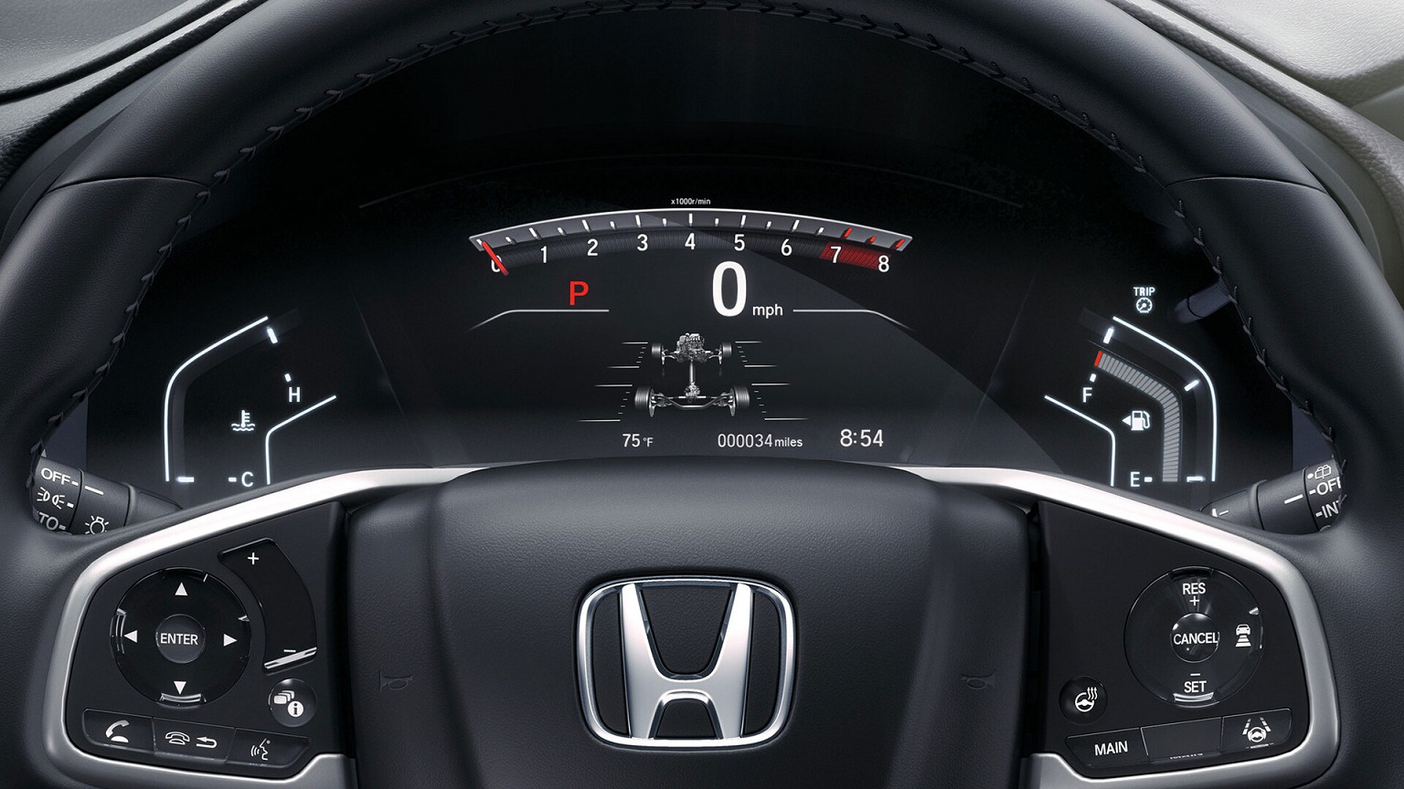 Instrument Panel in the 2020 Honda CR-V