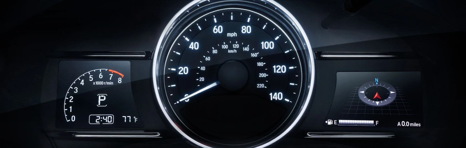 Instrument Cluster of the 2020 Honda HR-V