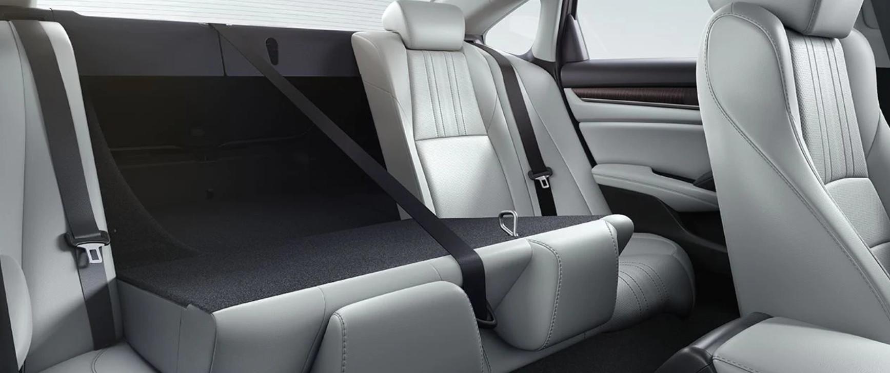 2020 Honda Accord Available 60/40 Split Rear Seatback