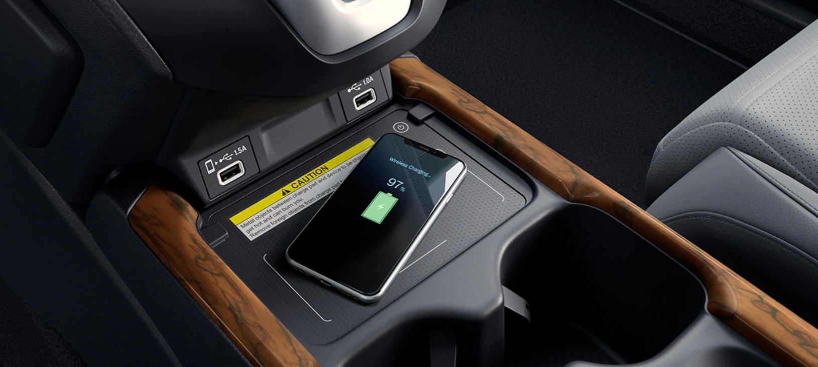 2020 Honda CR-V Available Wireless Phone Charger