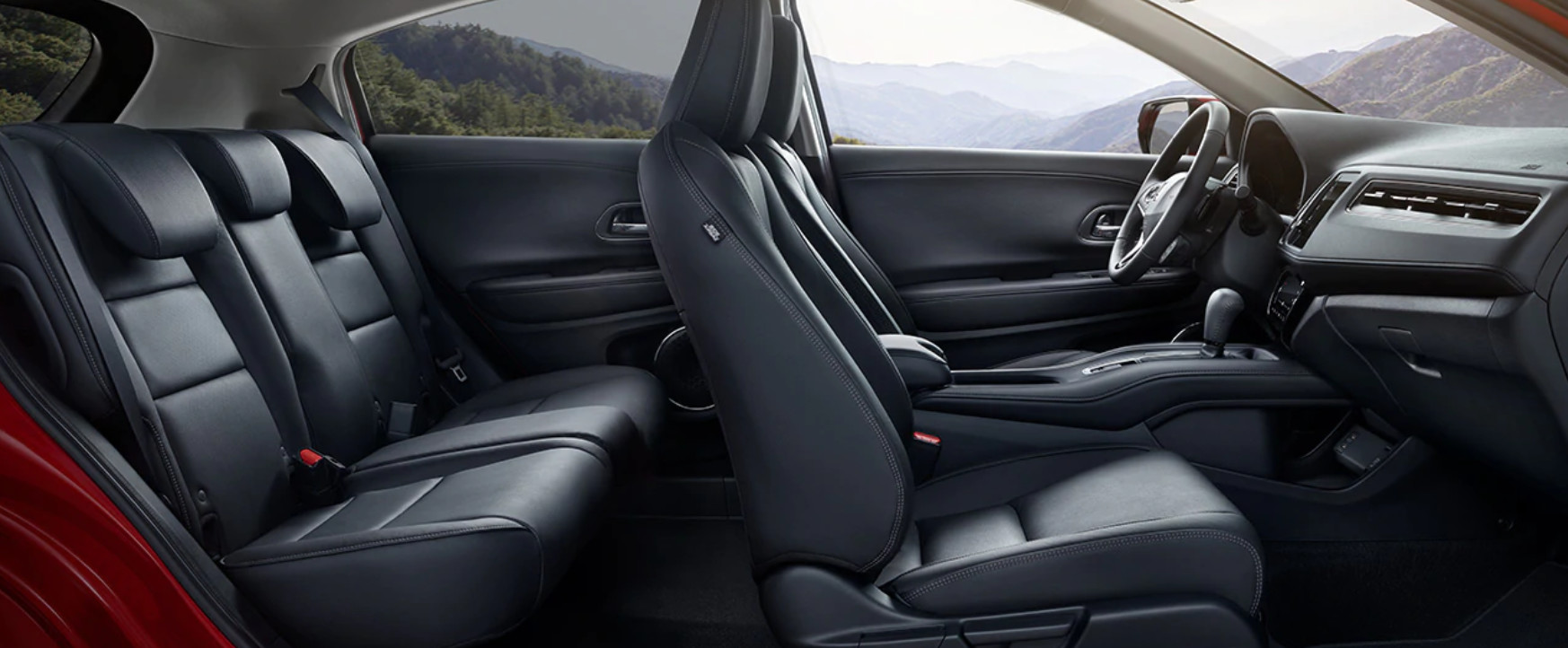2020 Honda HR-V Available Leather-Trimmed Seats