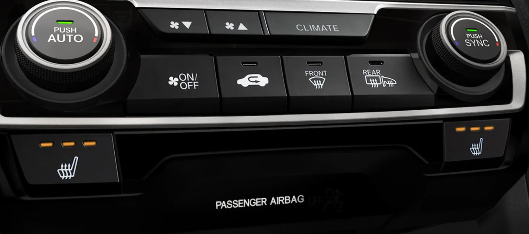 Climate Controls in the 2020 Civic