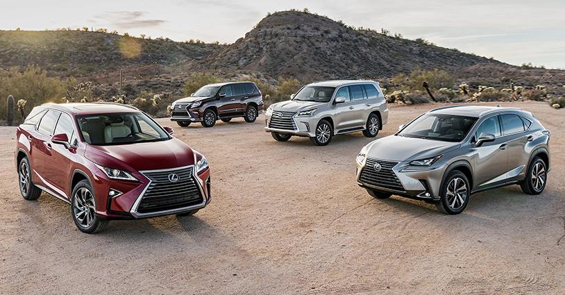 New SUV Models Lexus of North Miami