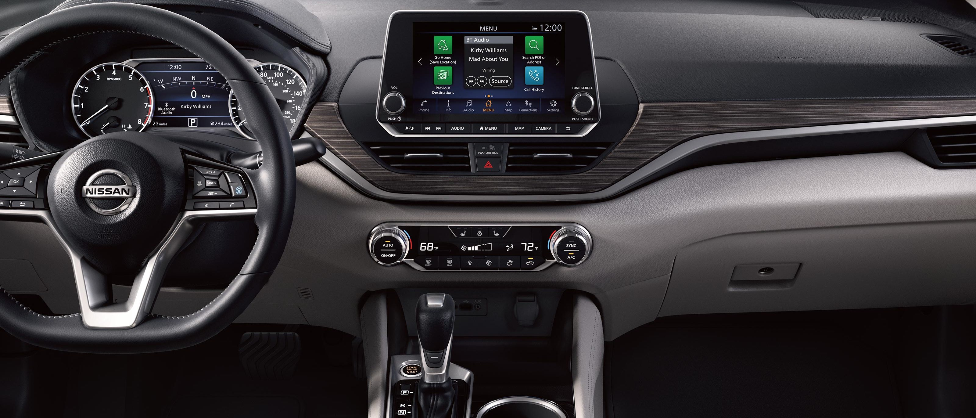 Tech-Loaded Cabin of the 2020 Nissan Altima
