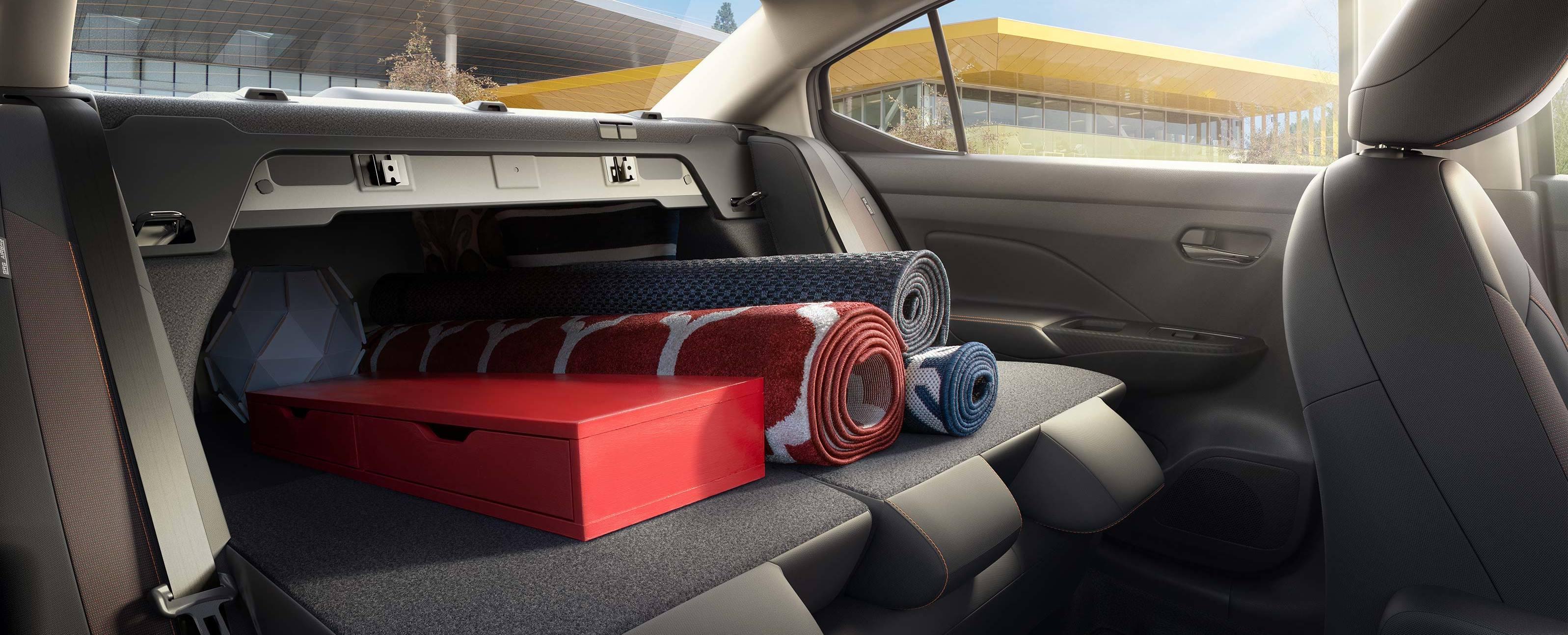 Versatile Storage in the 2020 Nissan Versa