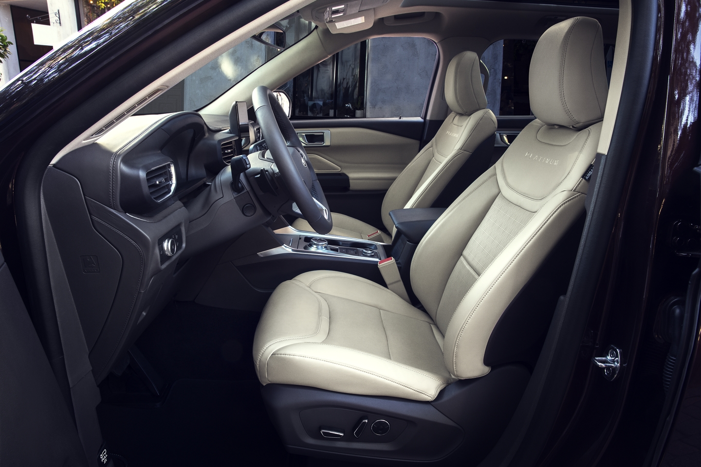 Spacious Seating in the 2020 Explorer