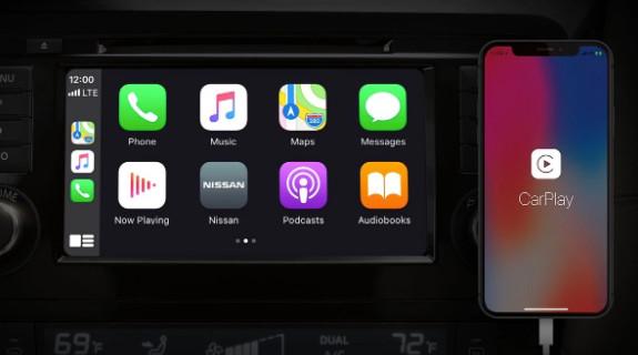2020 Nissan Rogue Sport Apple CarPlay®