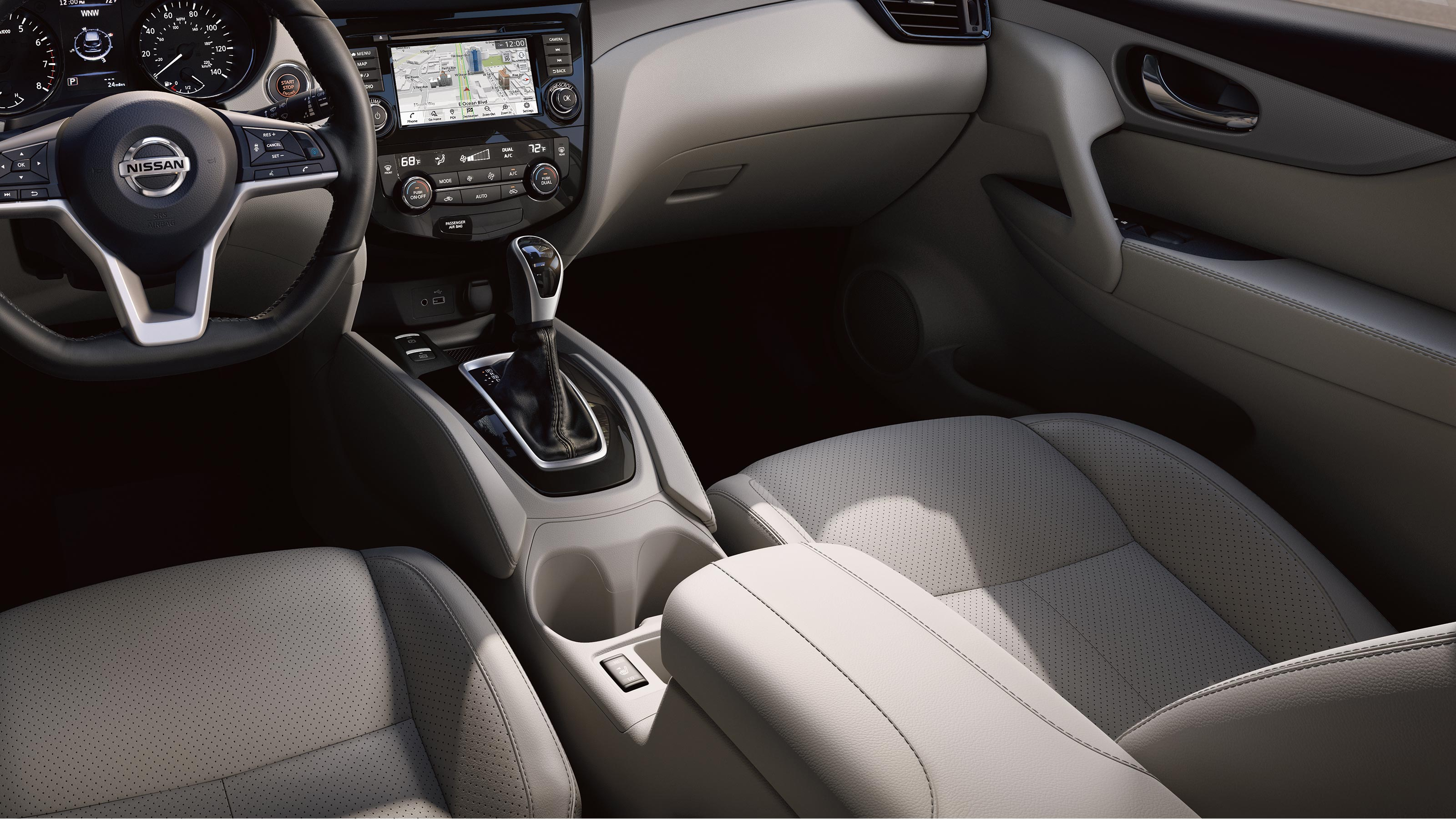2020 Nissan Rogue Sport Leather-Appointed Seats
