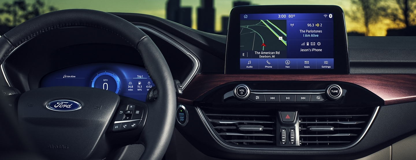 Tech Features in the 2020 Ford Escape