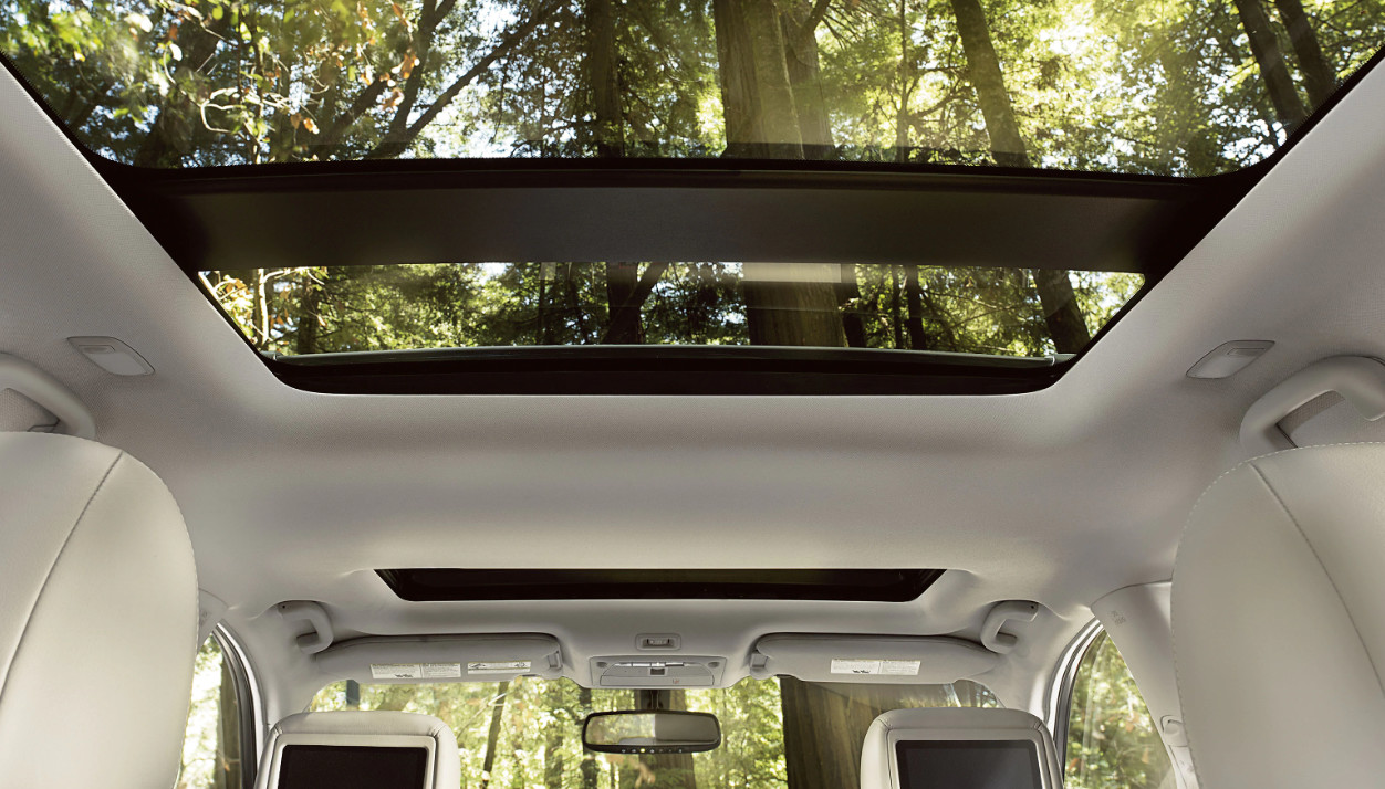 2020 Nissan Pathfinder Available Panoramic Sunroof