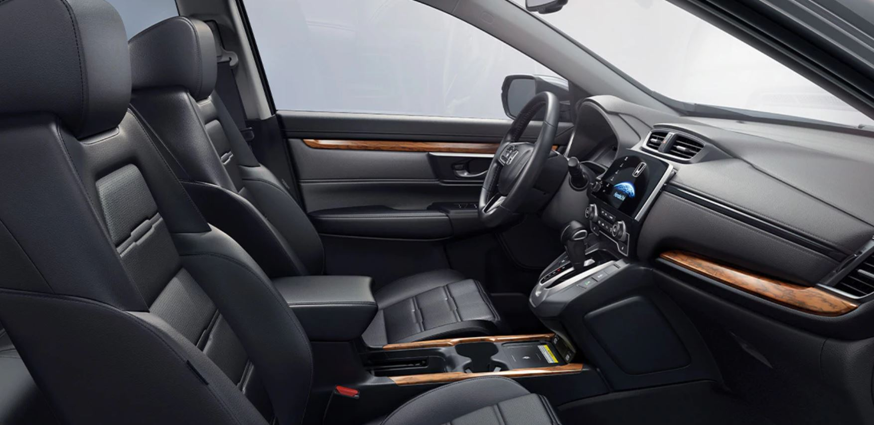 Front Row in the 2020 Honda CR-V