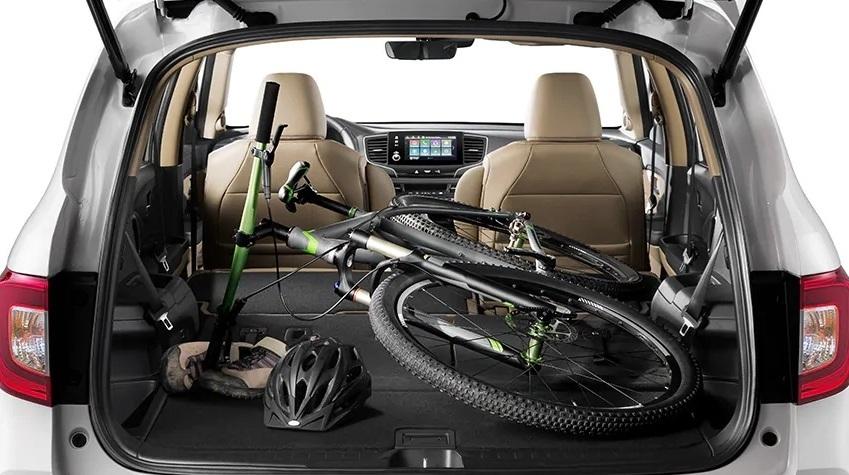 Generous Capacity in the 2020 Honda Pilot!