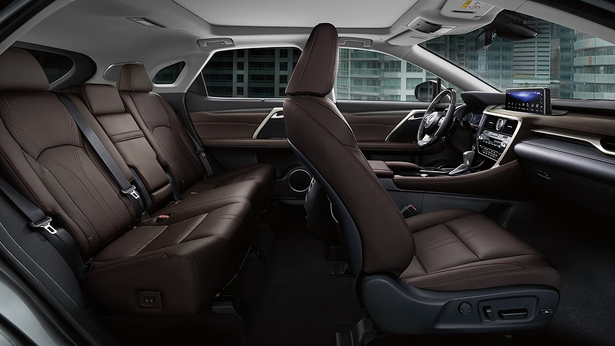 2020 Lexus RX 350 Available Noble Brown Semi-Aniline Leather Seats