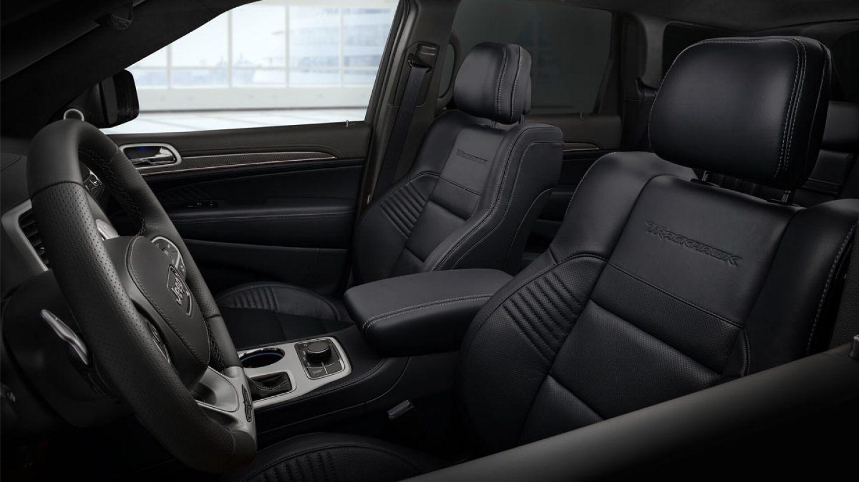 2020 Jeep Grand Cherokee Black Trim Interior