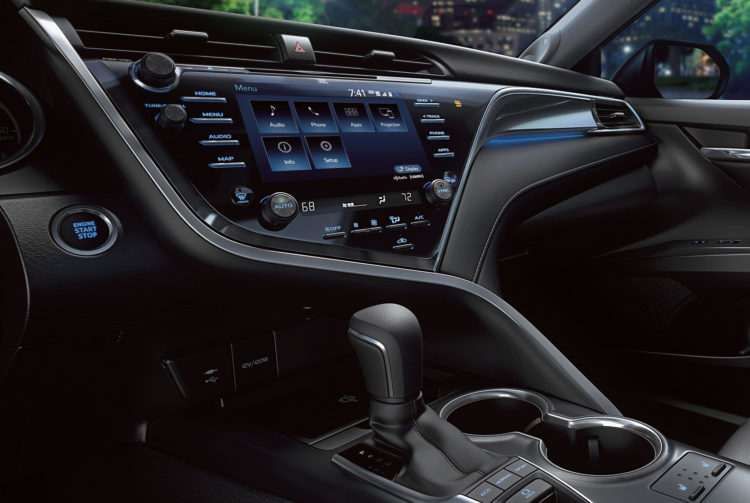 The Tech-Loaded Interior of the 2020 Camry
