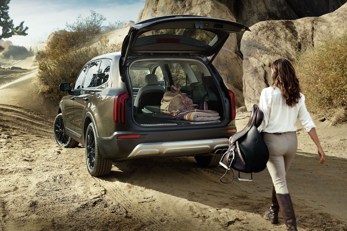 There's Plenty of Room for Your Gear in the 2020 Kia Telluride!