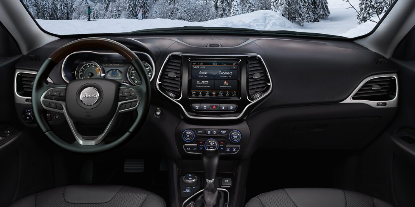 2020 Jeep Cherokee Available Uconnect® System