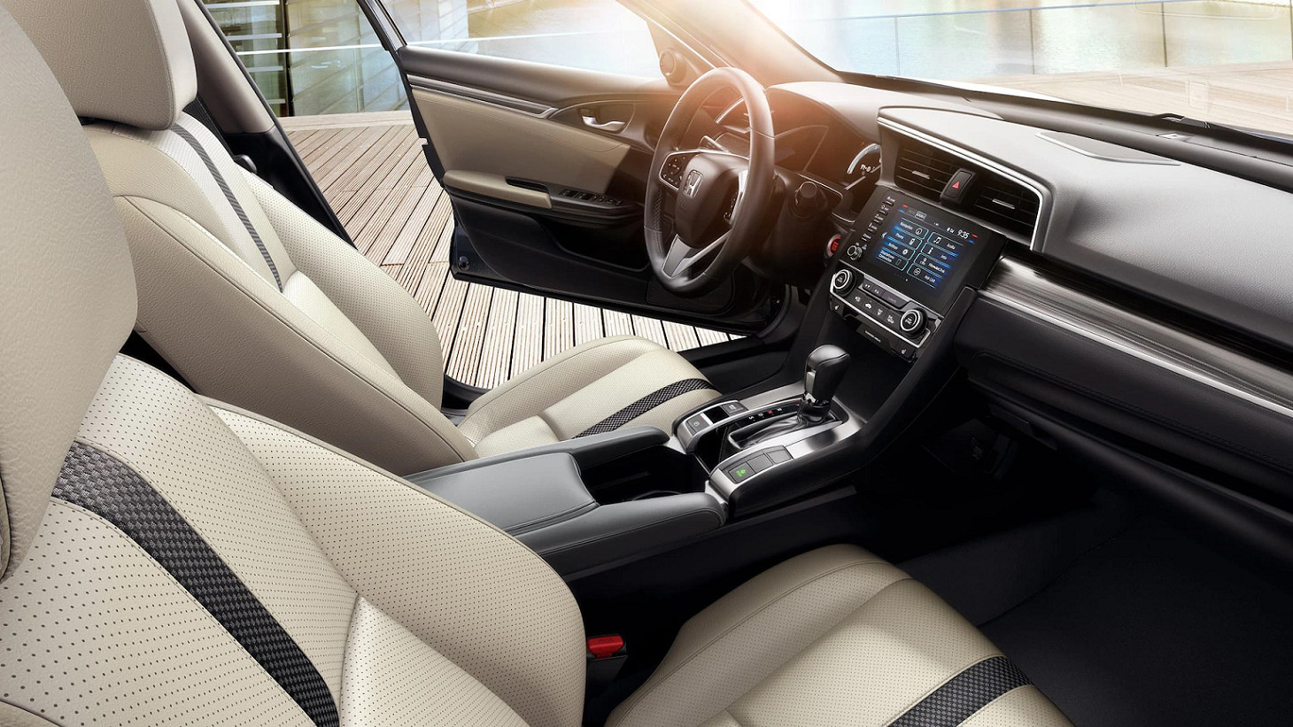 Upscale Seating in the 2020 Honda Civic