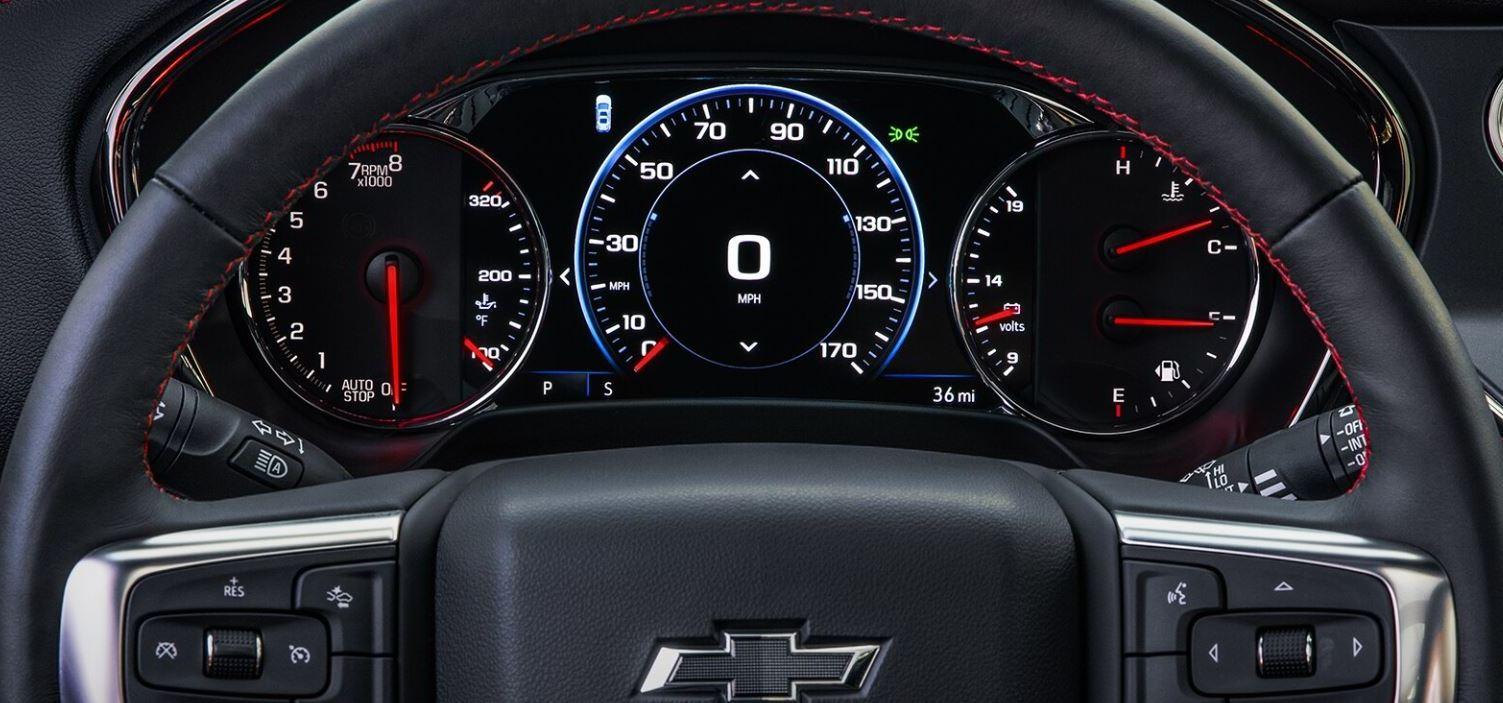2020 Chevrolet Blazer Information Display