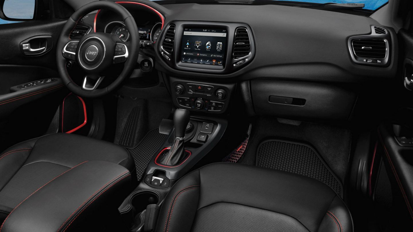 2020 Jeep Compass Front Interior