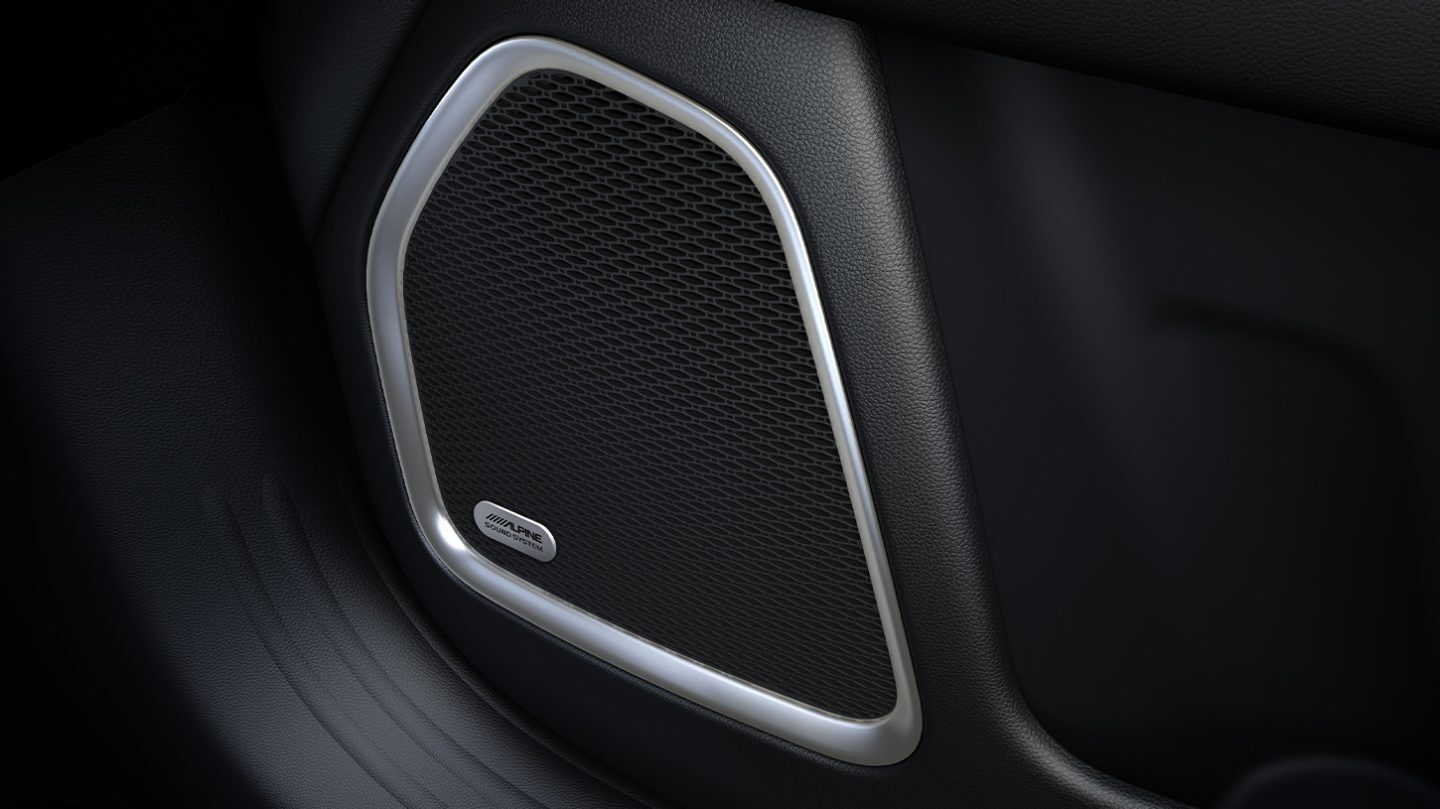 2020 Jeep Compass Available Alpine® Premium Audio System