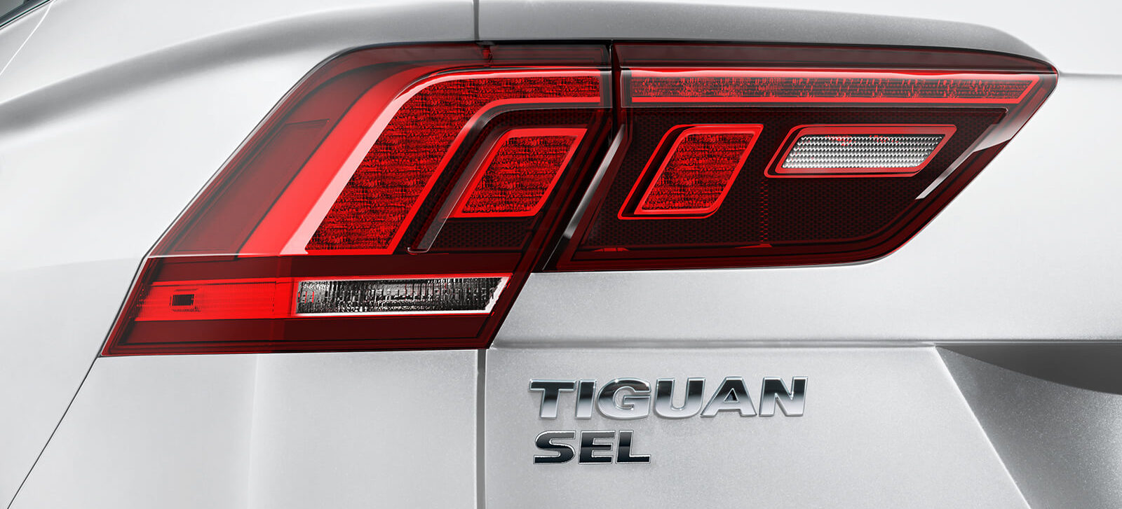 LED Taillights of the 2020 Tiguan