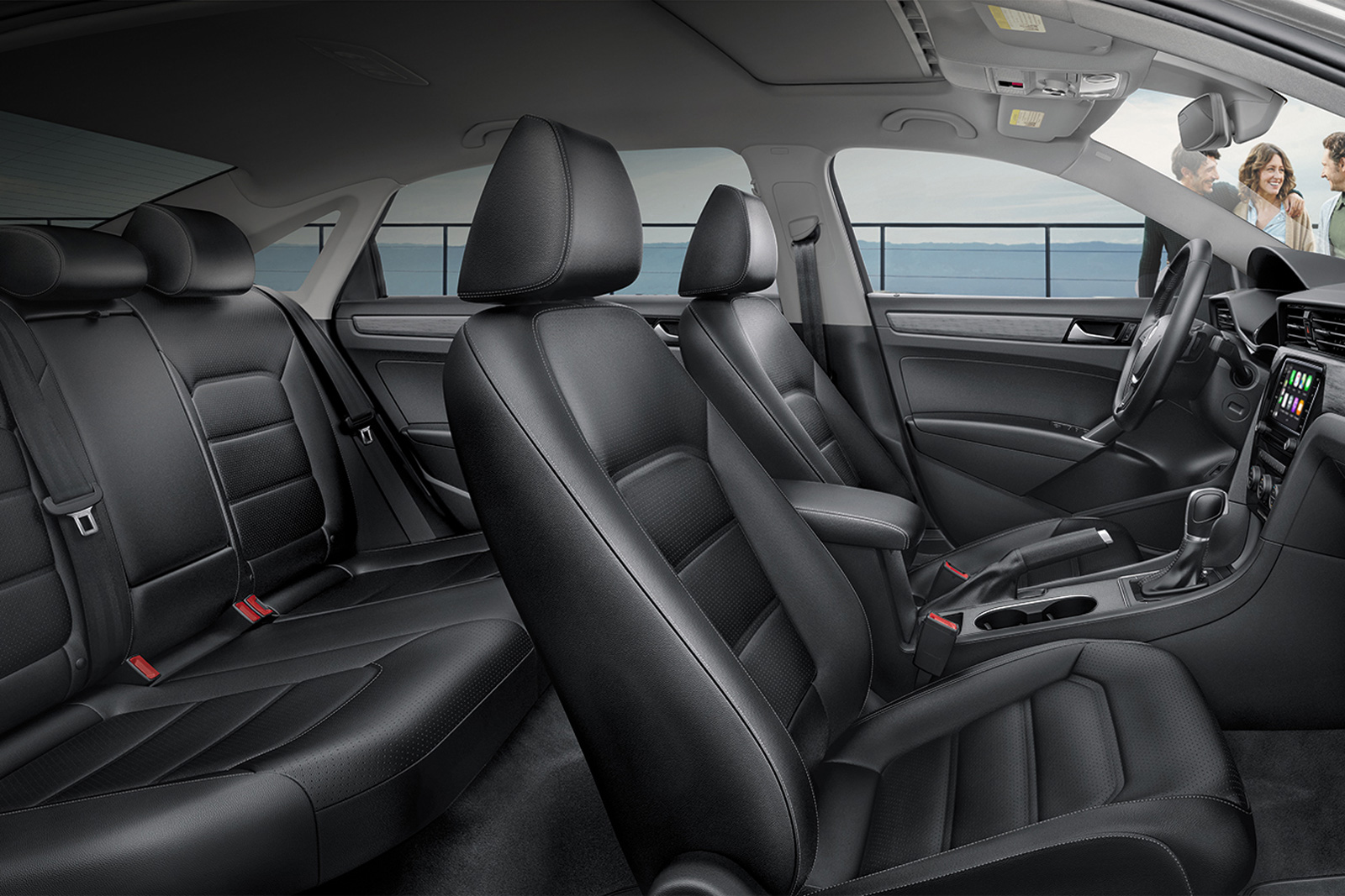 Upscale Cabin of the 2020 VW Passat