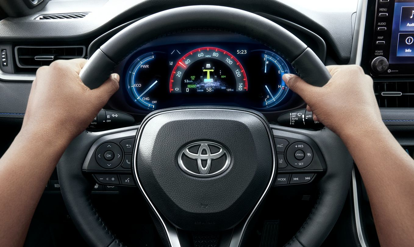 At the Wheel of the 2020 Toyota RAV4
