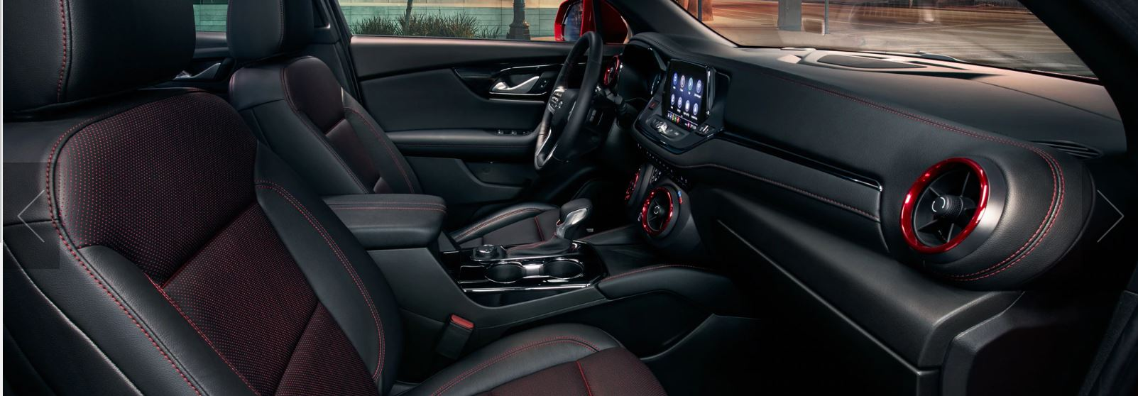 Interior of the 2020 Chevrolet Blazer