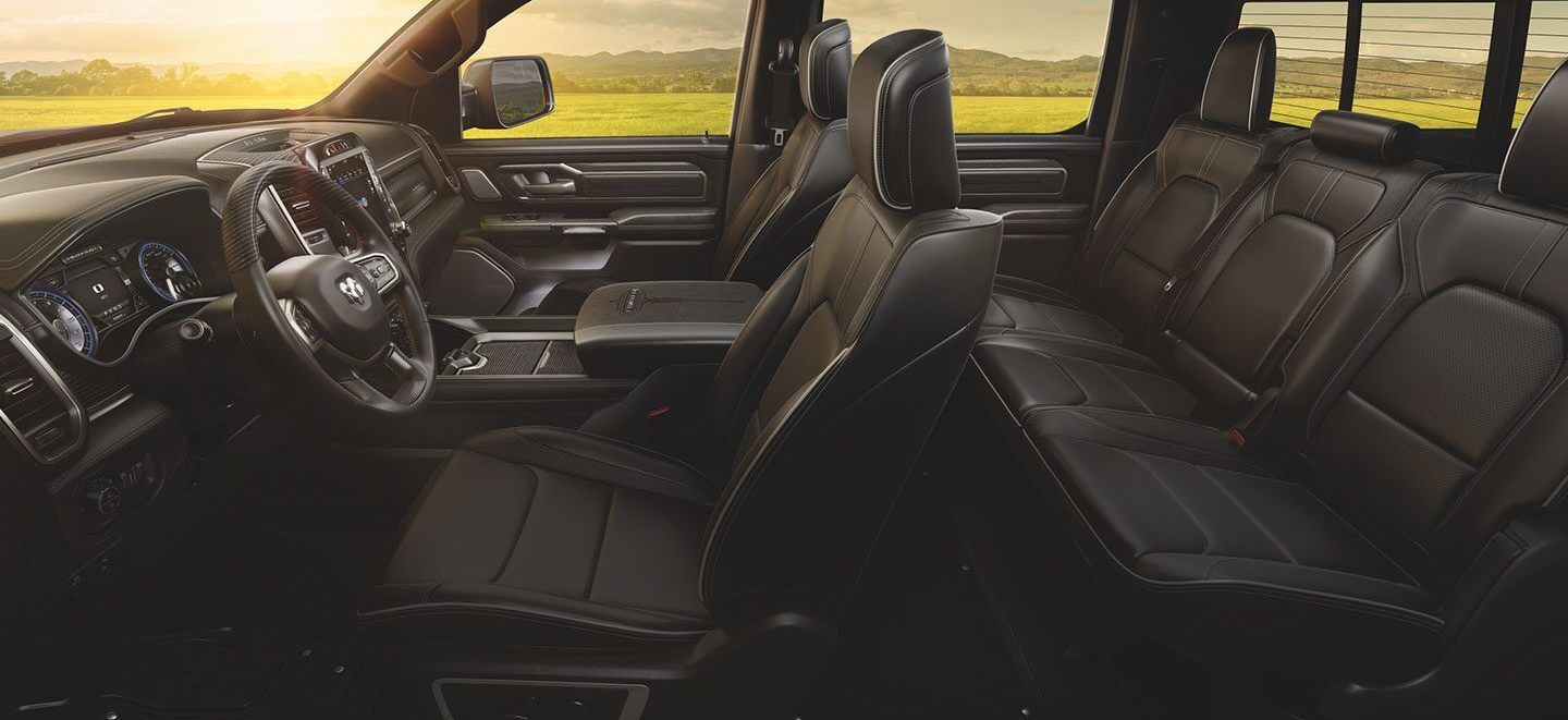 2020 Ram 1500 Spacious Interior