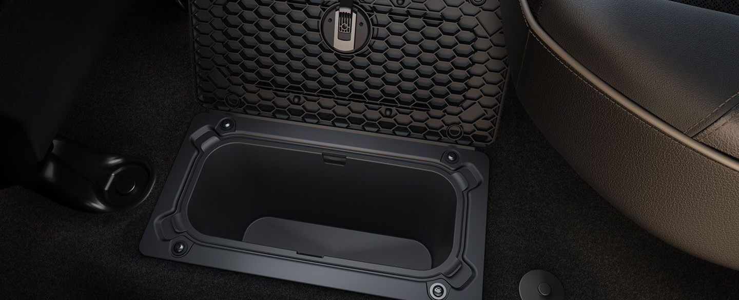 Under-Floor Storage in the 2020 Ram 1500