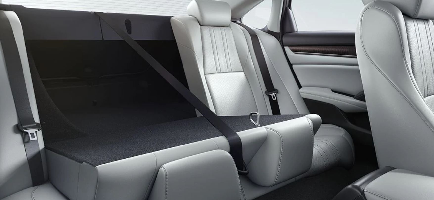 Versatile Seating in the 2020 Accord