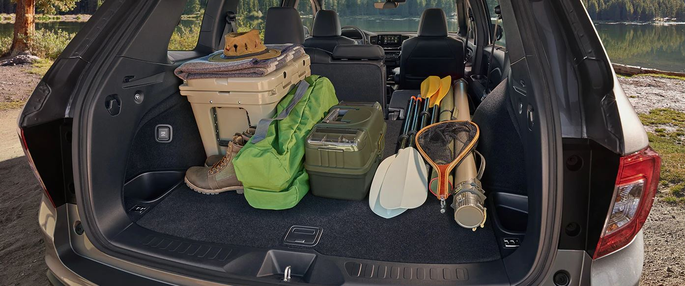 There's Plenty of Space for Your Gear in the 2020 Honda Passport!
