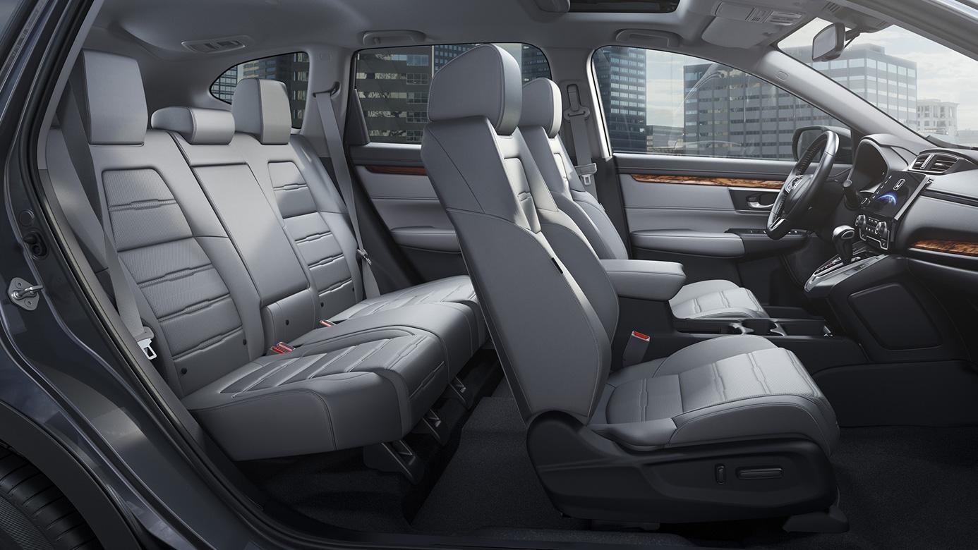 Cabin of the 2020 Honda CR-V