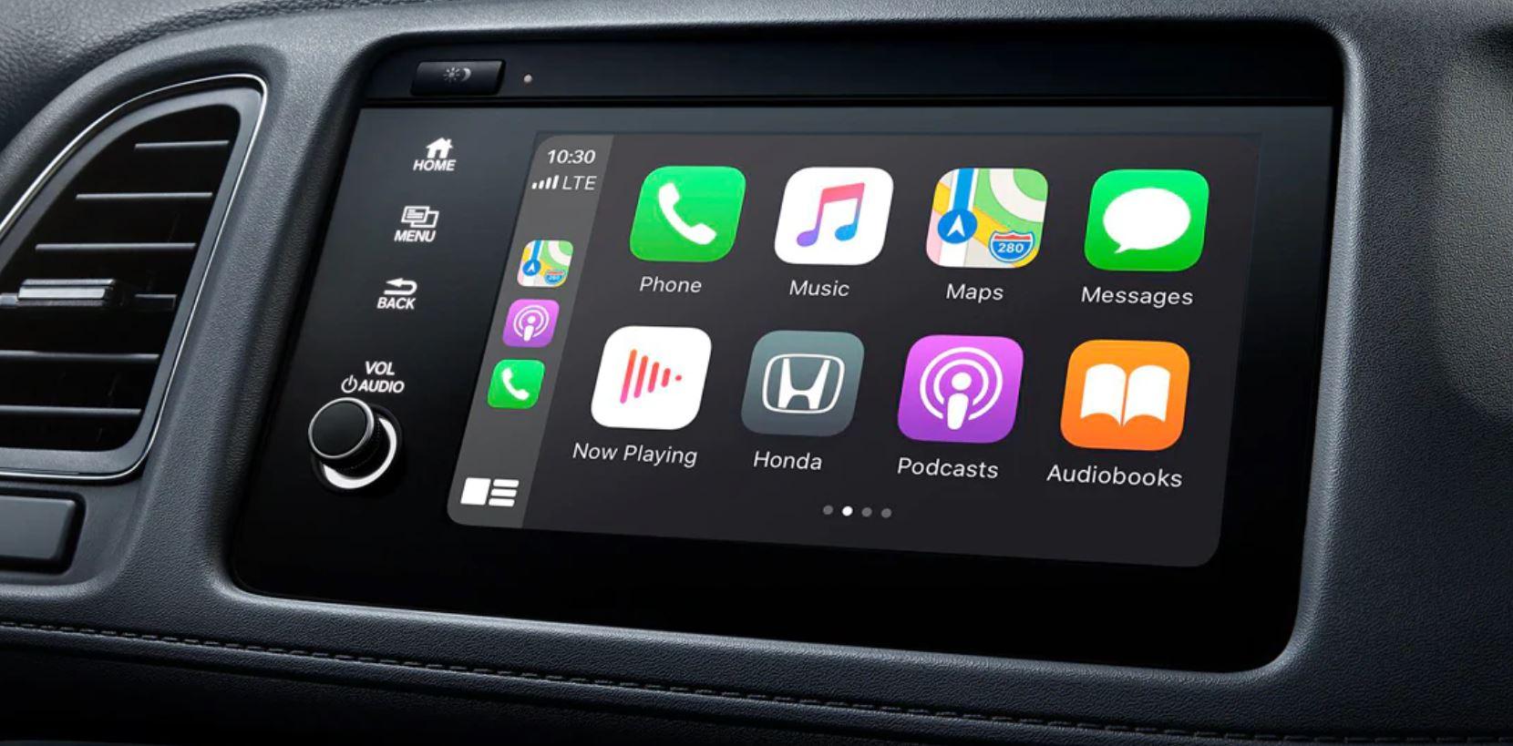 Touchscreen in the 2020 Honda HR-V