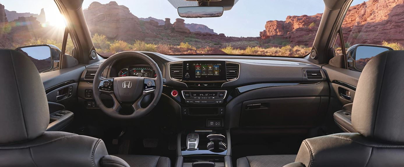 Interior of the 2020 Honda Passport