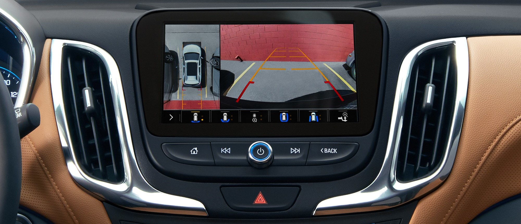 Rear View Camera in the 2020 Chevrolet Equinox
