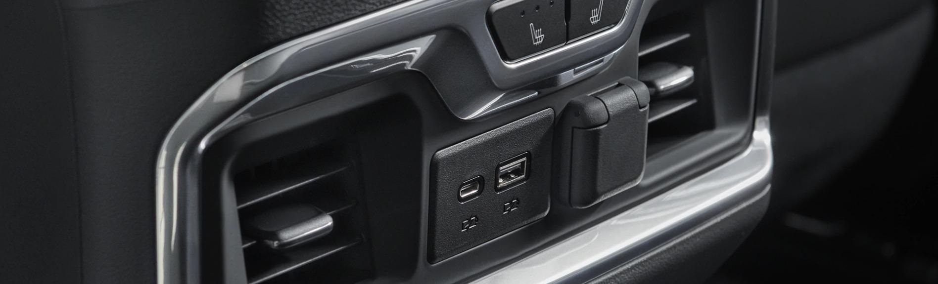 2020 Chevrolet Silverado 1500 Rear Climate Control