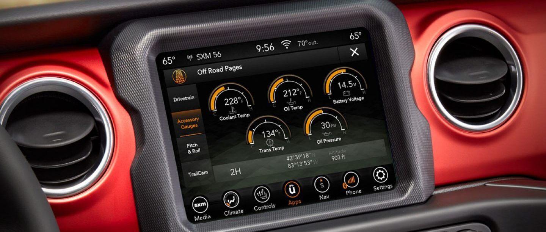 2020 Jeep Gladiator Touchscreen