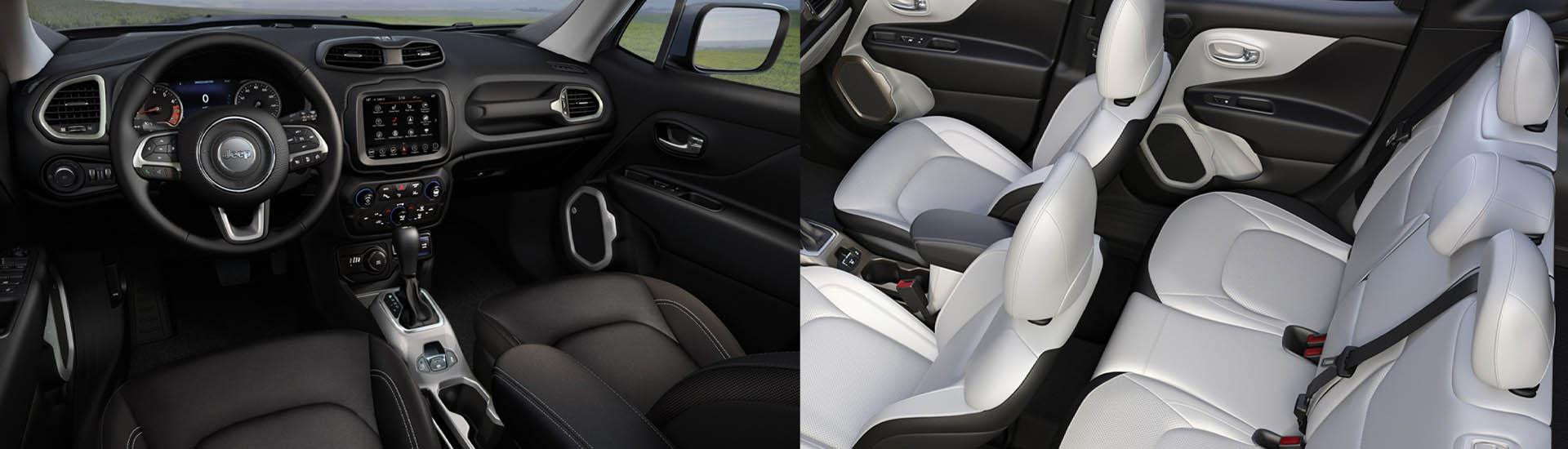 2020 Jeep Renegade interior