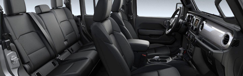 2020 Jeep Gladiator Cabin
