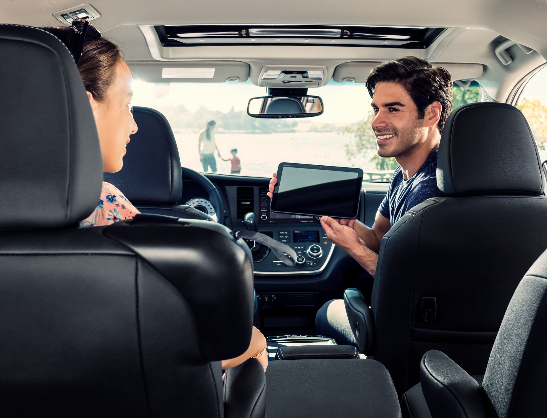 The Secure Cabin of the 2020 Toyota Sienna
