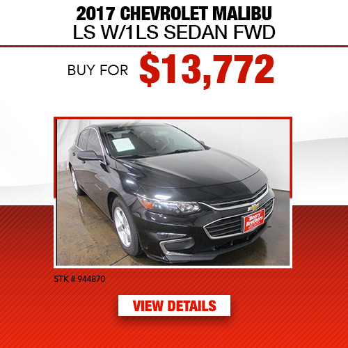 2017 Chevrolet Malibu LS Sedan FWD